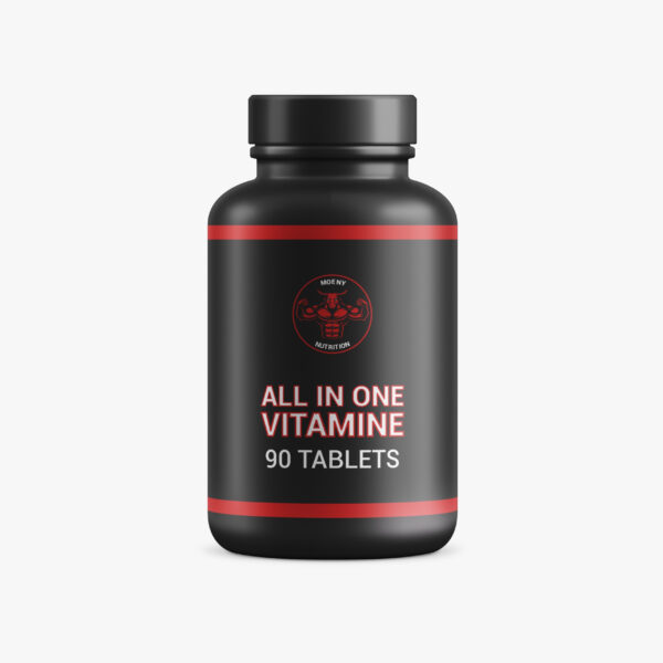 Moeny Nutrition All-in-one vitamin product foto supplementen