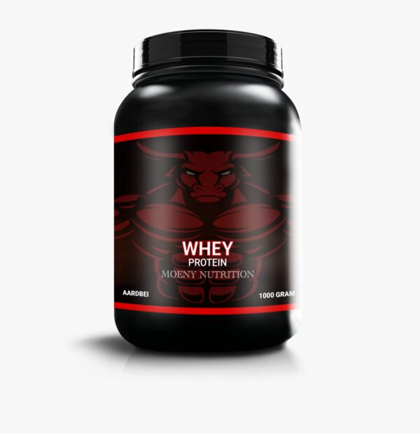 Moeny Nutrition WHEY Protein aardbei product foto
