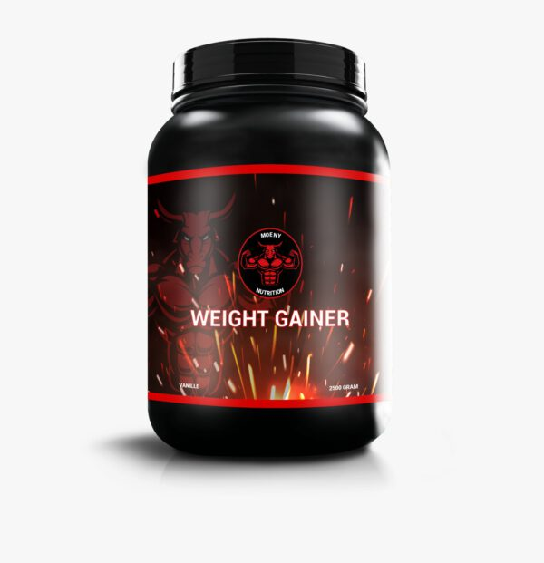 Moeny Nutrition Weight Gainer vanille product foto